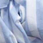 righe azzurro/bianco